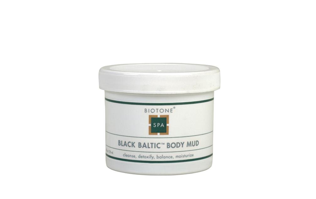 Biotone Black Baltic Body Mud - 4 Ounces 01