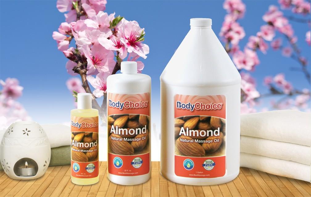BodyChoice Almond Massage Oil 01