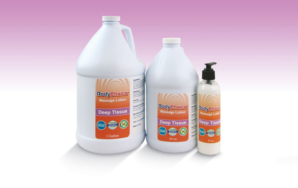 BodyChoice Deep Tissue Massage Lotion 01