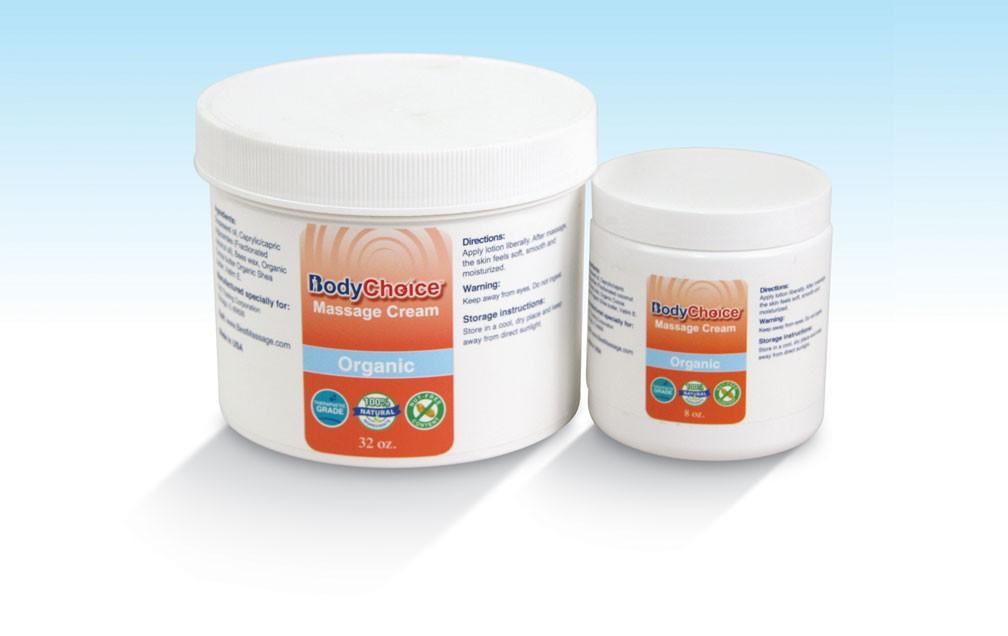 BodyChoice Multi-purpose Massage Cream Organic