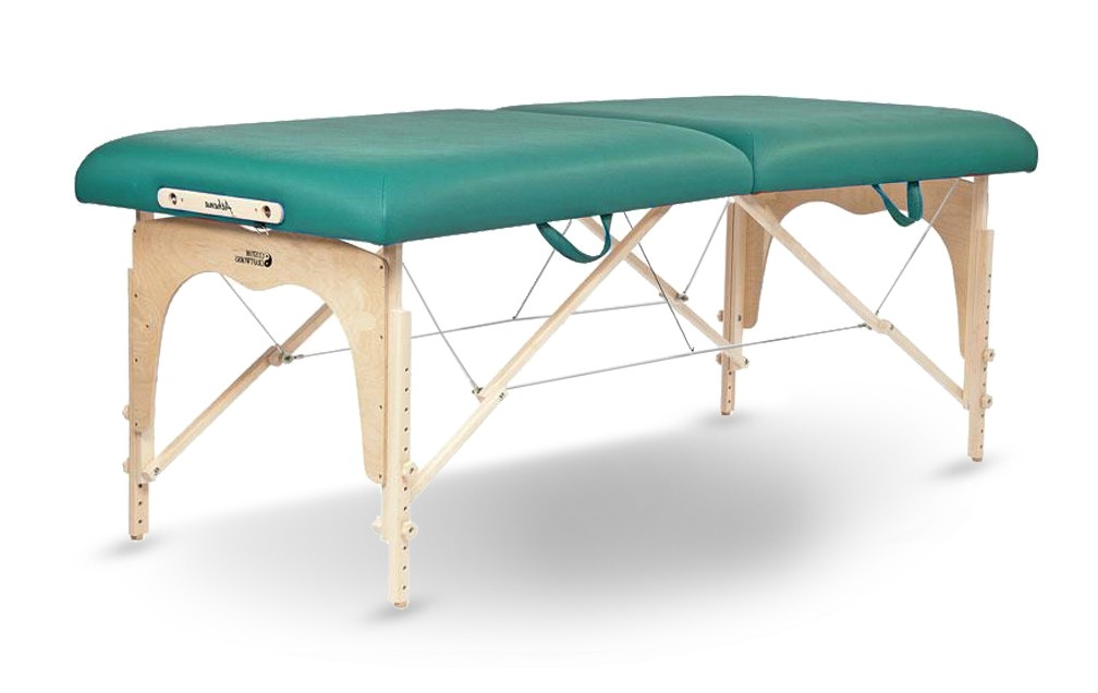 Custom Craftworks American Made Athena Table - Teal