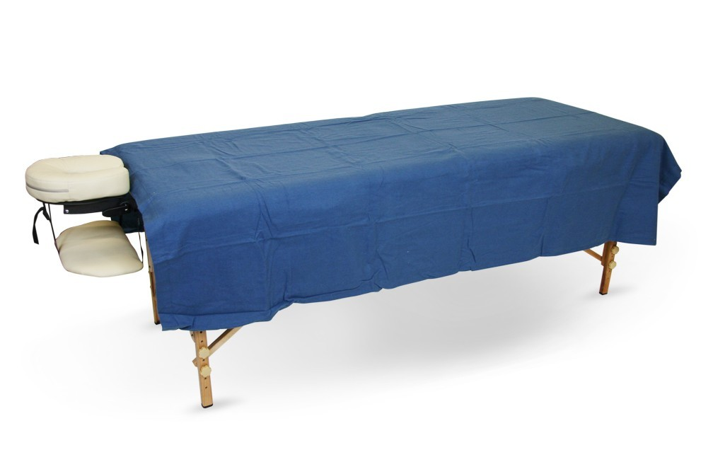 BodyChoice Table Length Fleece Blanket - Royal Blue