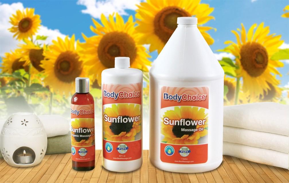 BodyChoice Sunflower Massage Oil