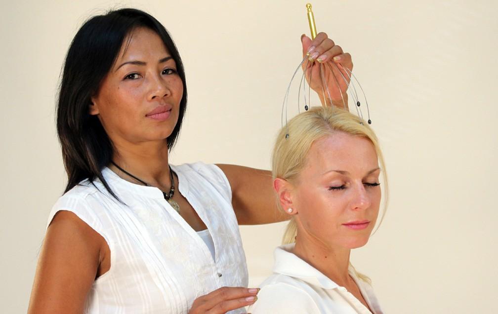 Scalp Massager - Gold
