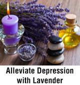 Alleviate Depression with Lavender
