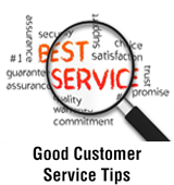 Good Customer Service Tips