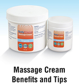 Massage Cream Benefirs and Tips