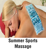 Summer Sports Massage