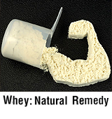 Whey natural remedy